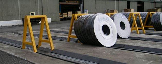 Coil Mat Wedges For Safe Storage Of Slit Coils Klp